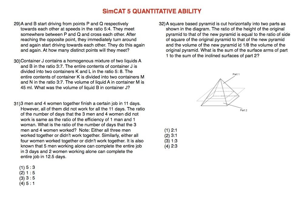 SimCAT 5 QA 4
