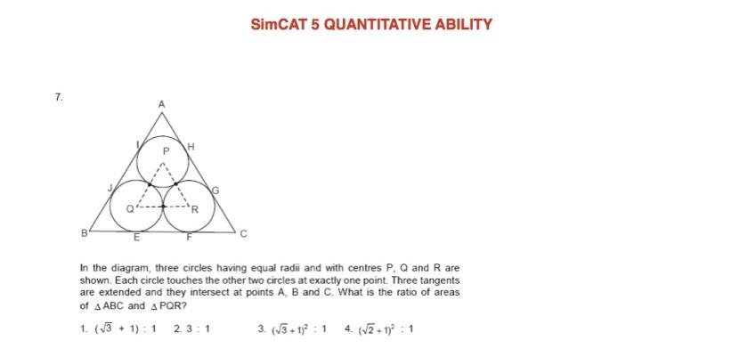 SimCAT 5 QA 5