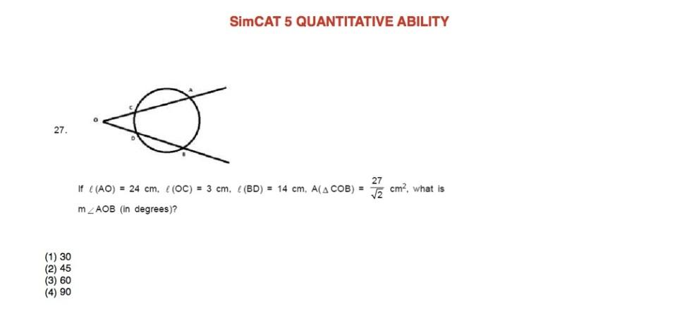 SimCAT 5 QA 6