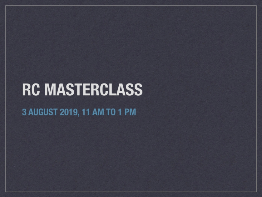 RC Masterclass Webinar | The CAT Writer